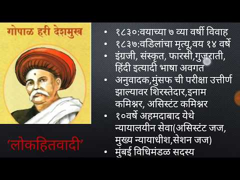 Samajsudharak in Maharashtra MPSC (PSI/ STI /ASO)-lokhitawadi(समाजसुधारक) social reformers-14