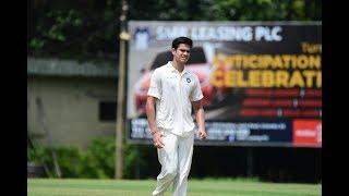 Arjun Tendulkar goes wicket-less in Warm-Up match