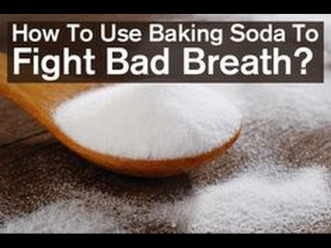 Fight Bad Breath With The Use Of Baking Soda