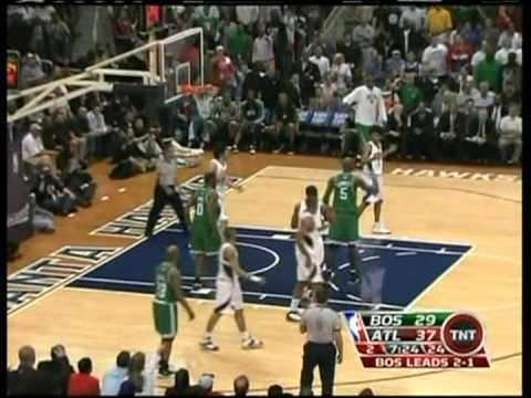 2008 NBA Playoffs - Hawks Celtics Gm4/6 Highlights