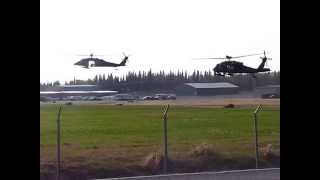 Army National Guard Blackhawks ~ Funny River Fire, Alaska