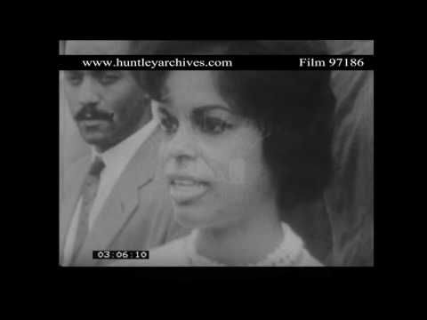 West Indian Immigrants interviewed on why they came to the U.K.  Archive film 97186