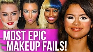 One of Clevver Style's most viewed videos: 9 MOST EPIC Red Carpet MAKEUP FAILS! (Dirty Laundry)