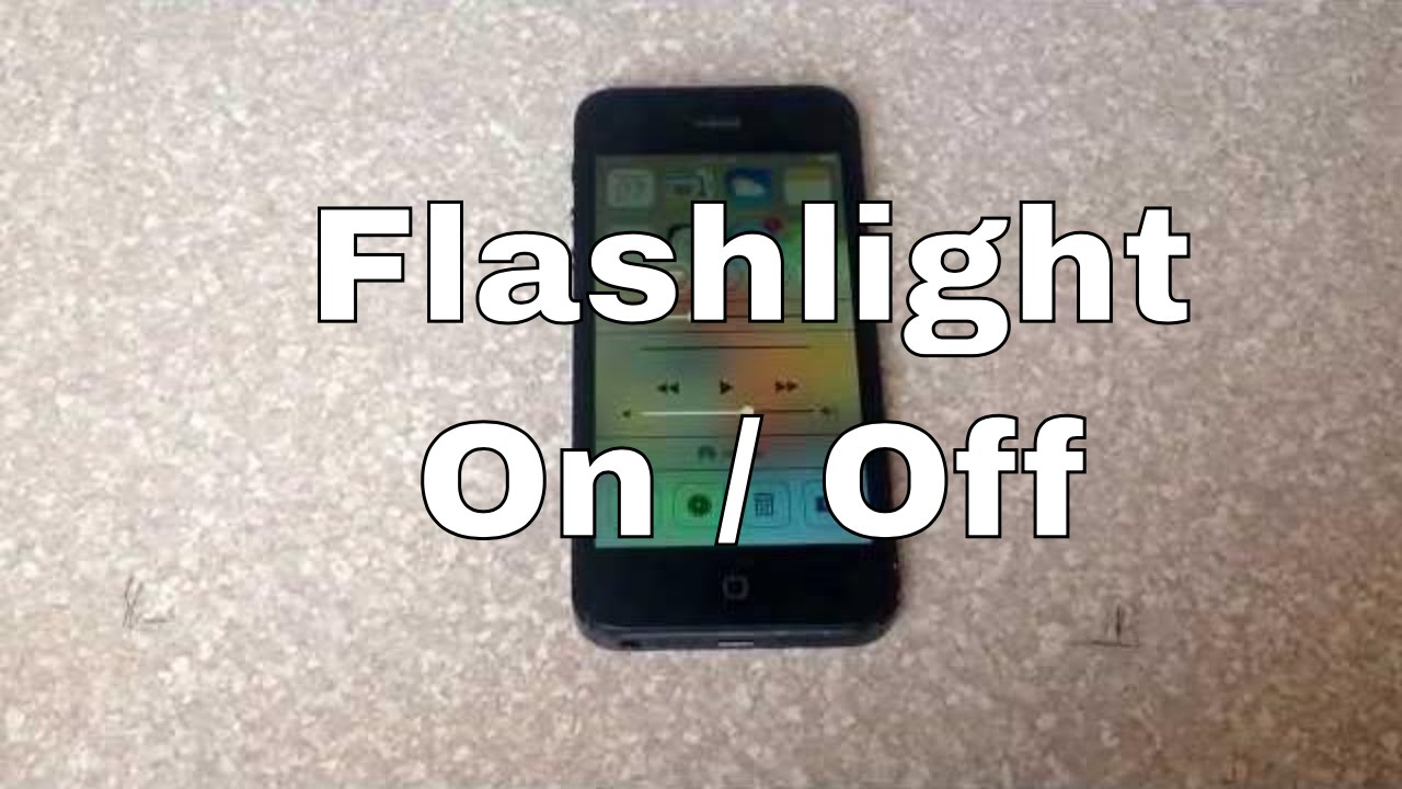 turn off iphone flashlight how to turn the led light flashlight on and iphone 2278