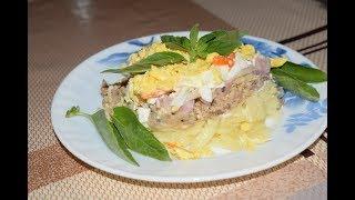 Очень вкусный салат МИМОЗА!!!!