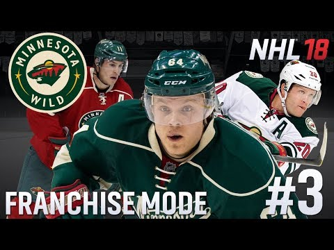 Trade Deadline - NHL 18 - GM Mode Commentary - Wild - Ep.3