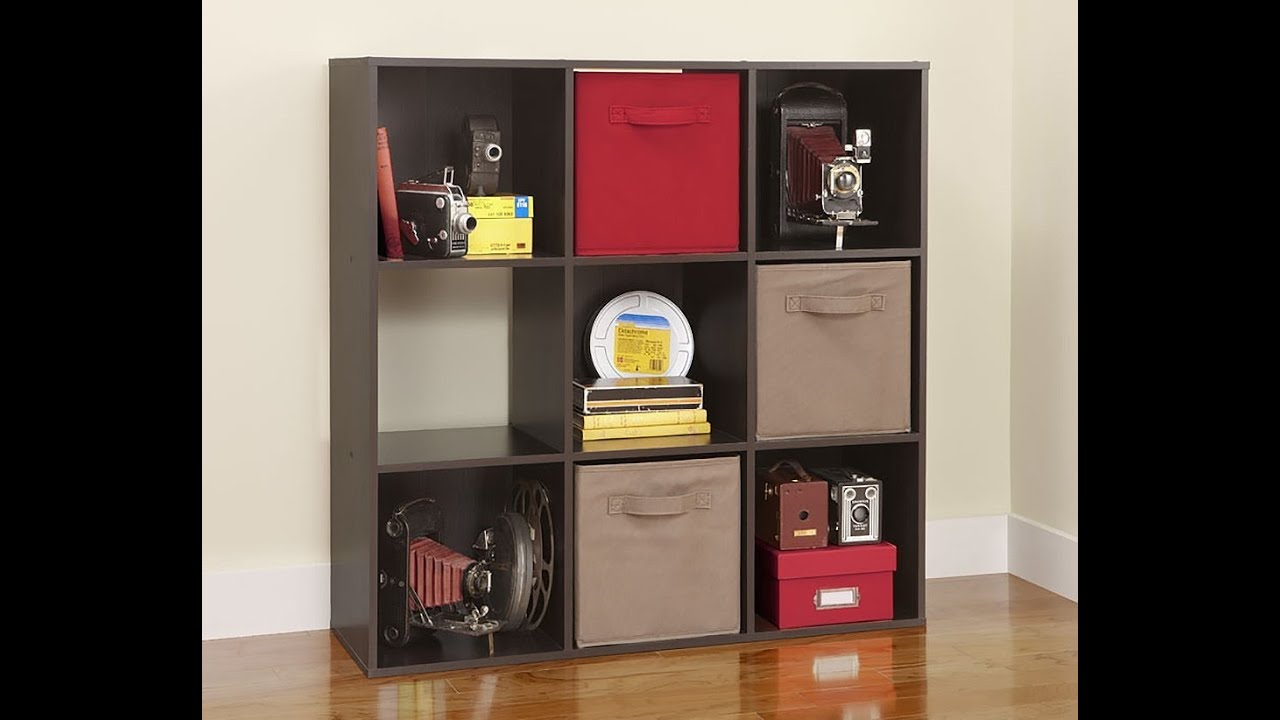 Elegant Review: ClosetMaid 8937 Cubeicals 9 Cube Organizer, Espresso   YouTube