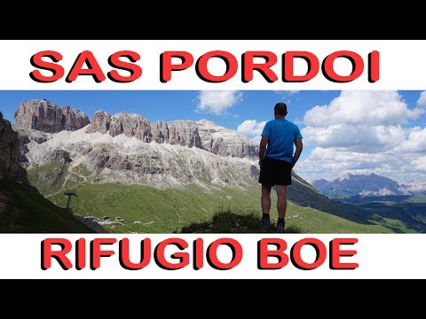 val di fassa- sass pordoi-piz boè-rifugio pordoi -06/07/2017