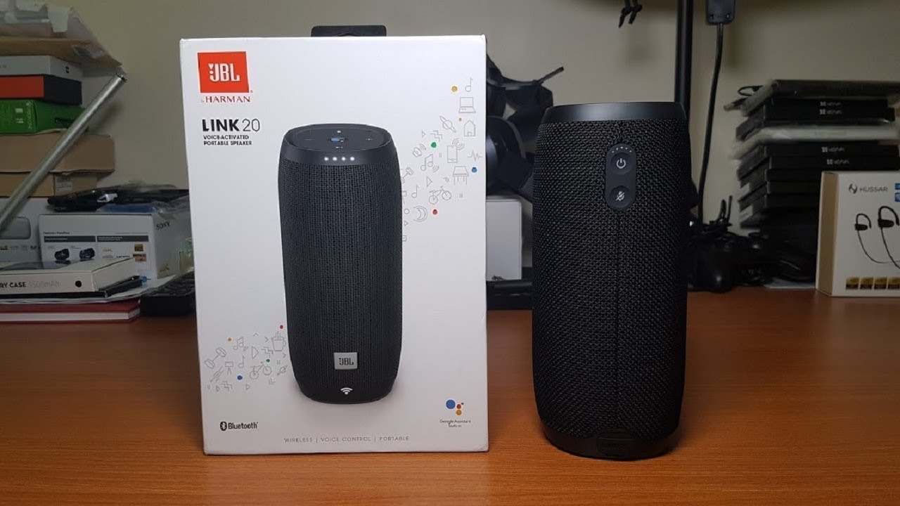 jbl link 20. jbl link 20 speaker unboxing (hd) jbl p