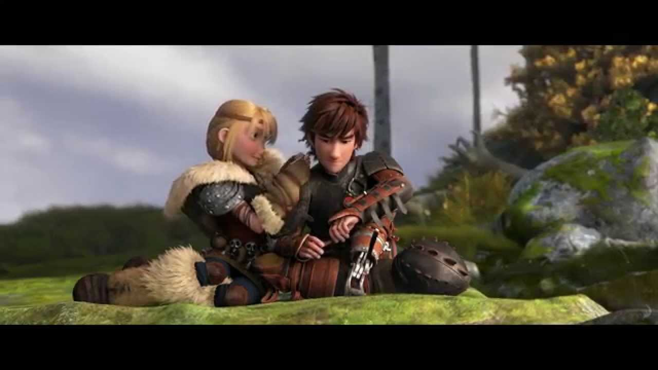 How To Train Your Dragon 2 Hiccup Astrid Clip Youtube