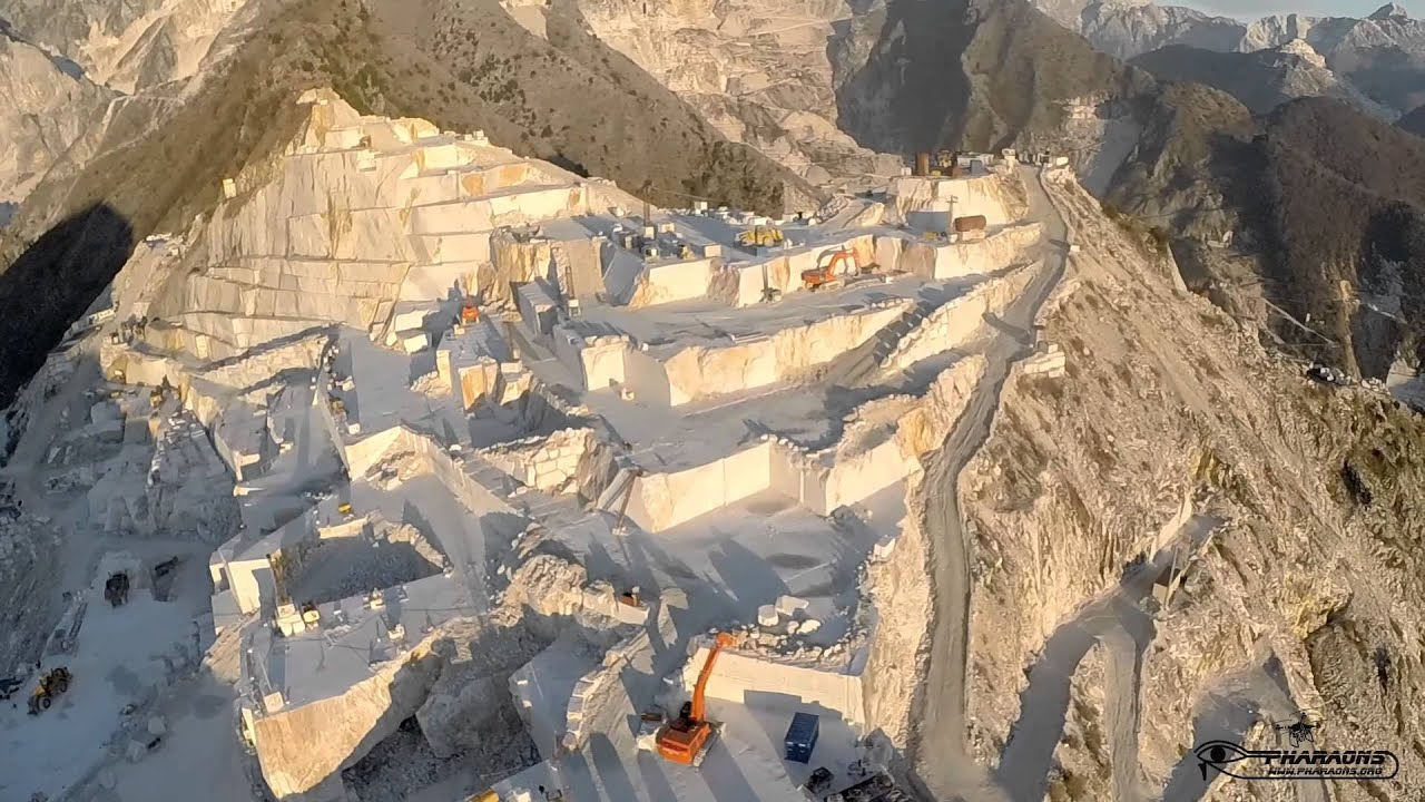 Cave Di Marmo Carrara Youtube
