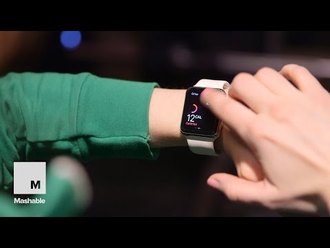 Working on your fitness with Apple Watch | Mashable