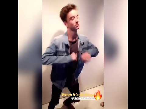 Why don't we dancing crazy and Daniel Seavey flipping his phone 📱