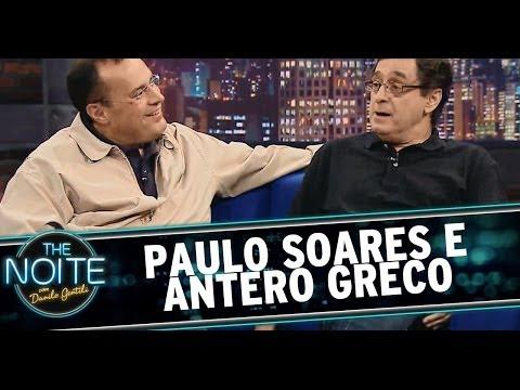 The Noite 22/04/14 - Antero Greco e Paulo Soares (íntegra)