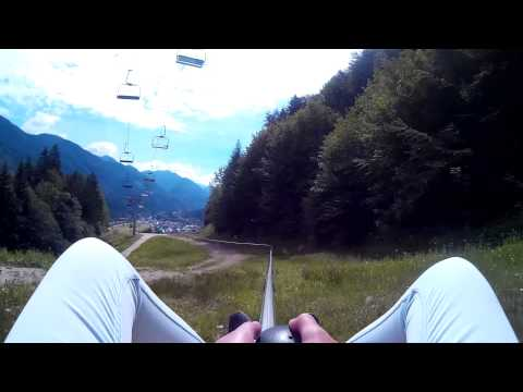 Travel Video - Summer Sledding in Kranjska Gora, Slovenia -