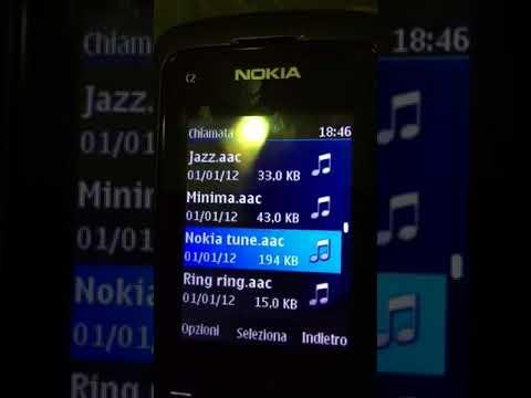 Nokia c2-05 ringtones