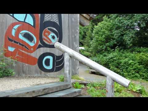 Ketchican Tlingit Saxman Clan House