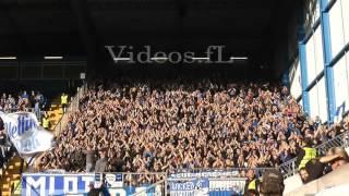 Arminia Bielefeld - VfL Bochum 22.9.2015 Gästeblock rockt die Alm!