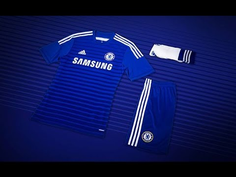 Como Crear los Uniformes del Chelsea 2014 15 Pes Ps2 - YouTube 9c9452b7584d0