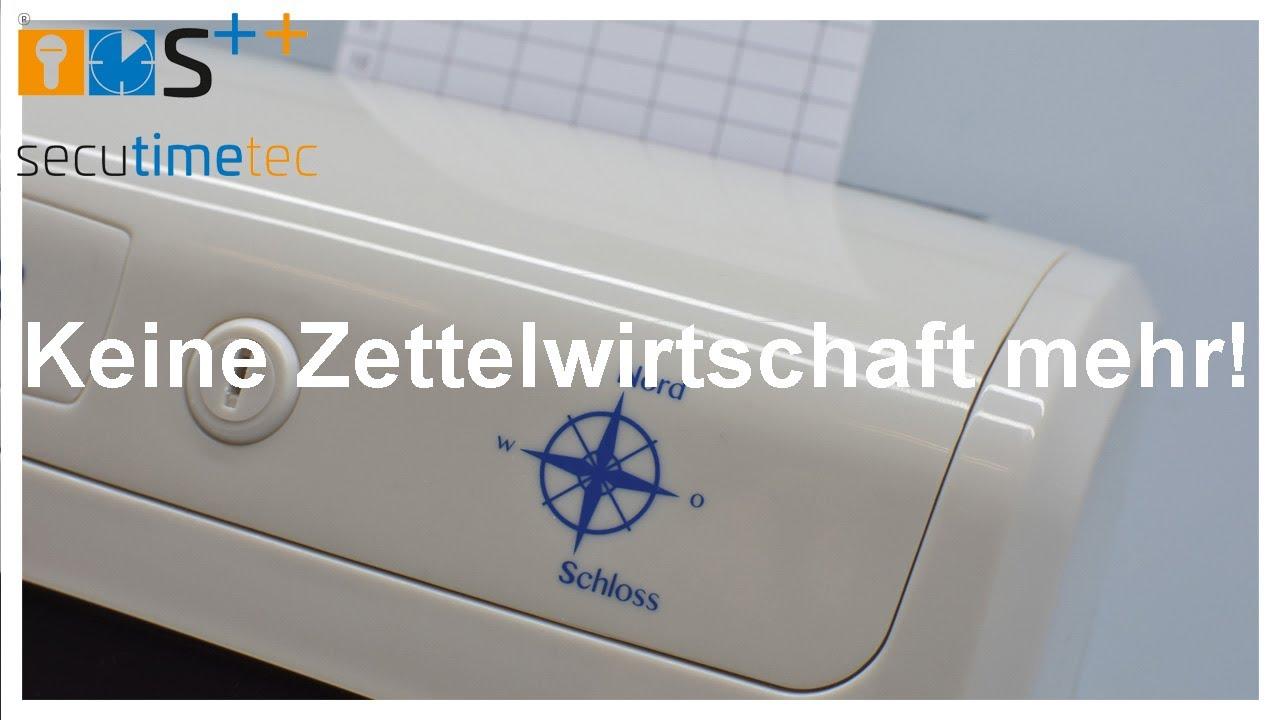 Stechuhr N952 Stempeluhr  Zeiterfassung Nord Schloss N 952