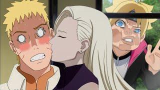 Внезапные поцелуи всех героев с Наруто в аниме Наруто