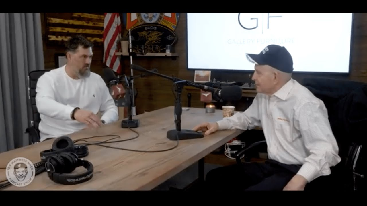 Gallery Furniture - The Mattress Mack Podcast Show - Episode 3: Marcus Luttrell