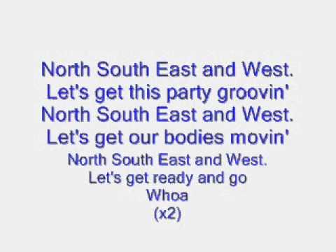 north south east and west lyrics wmv youtube