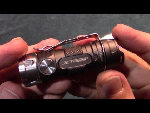 JetBeam Jet II PRO Flashlight Review!