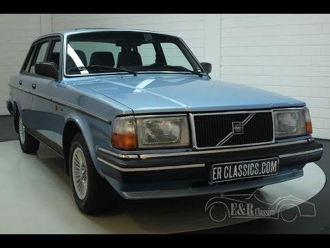 Volvo 240 GL Saloon 1988-VIDEO- www.ERclassics.com