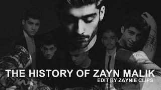 THE HISTORY OF ZAYN MALIK