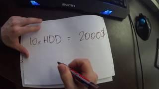 Анализ и окупаемость  на Burstcoin майнинг на жестком диске