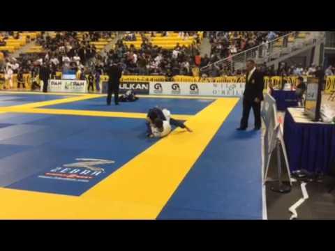 Dylan IBJJF Pan Am 2015 Semi-Final