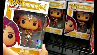 Fortnite Toys Hunt - NEW Fortnite Funko Pop Series 2 - Zoey, Tricera Ops, Valor, Ragnarok, Drift