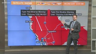 Northern California 8 a.m. weather update: October 9, 2019 | PG&E power shutoffs