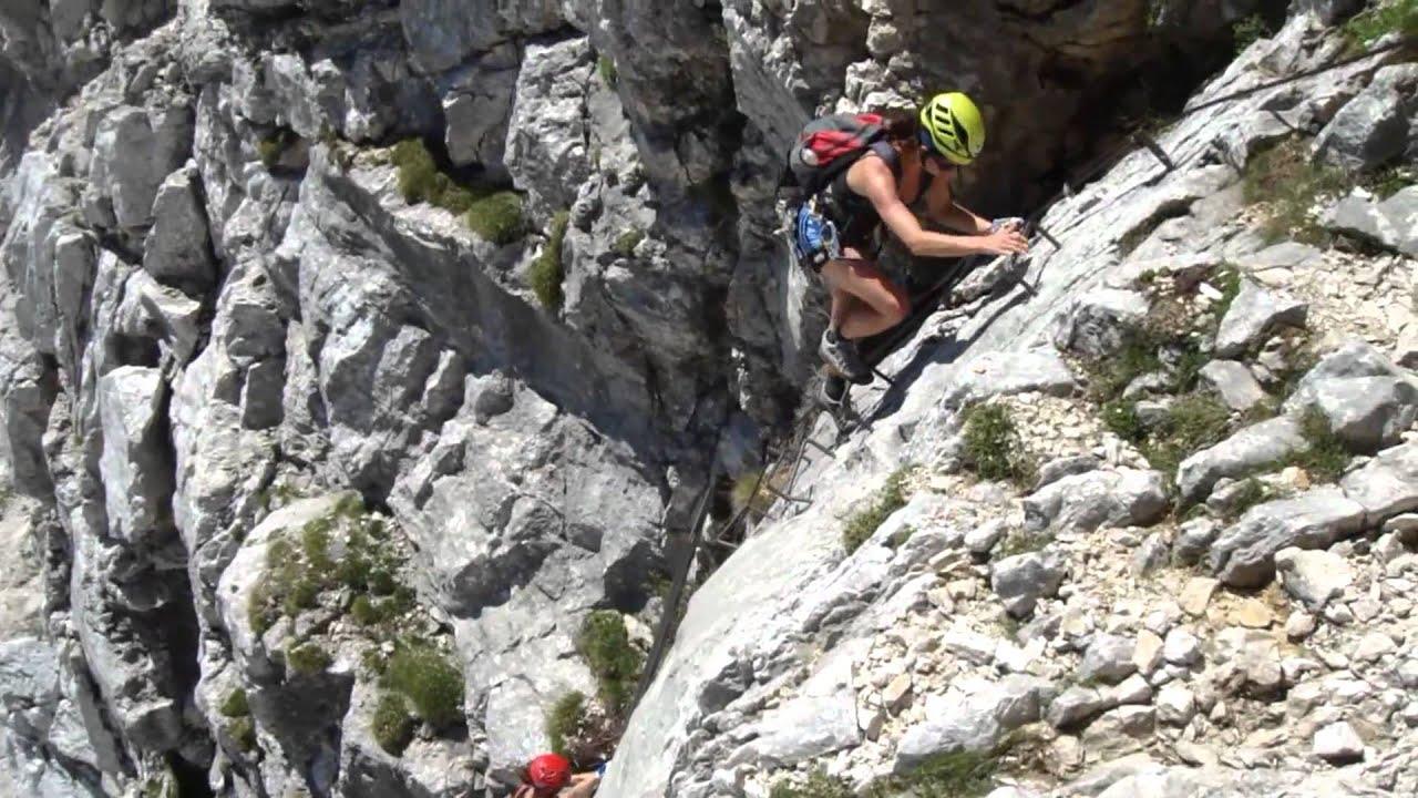 Klettersteig Bälmeten : Bert rinesch youtube