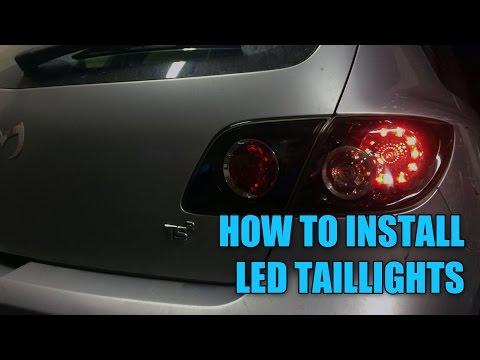DIY LED Tail Light Upgrade | Mazda 3 | Chasing Status | S03E07