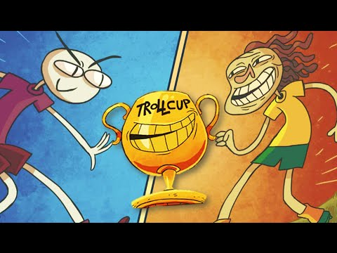 THE TROLLCUP GAMES!! | Trollface Quest 5 - YouTube