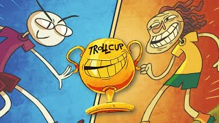 THE TROLLCUP GAMES!! | Trollface Quest 5