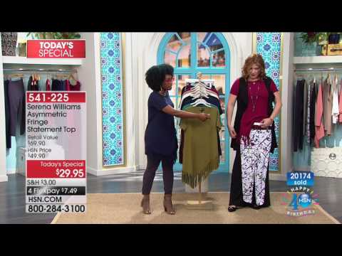 HSN | SERENA WILLIAMS Signature Statement Fashions Celebration 07.21.2017 - 11 AM