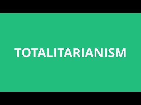 How To Pronounce Totalitarianism - Pronunciation Academy