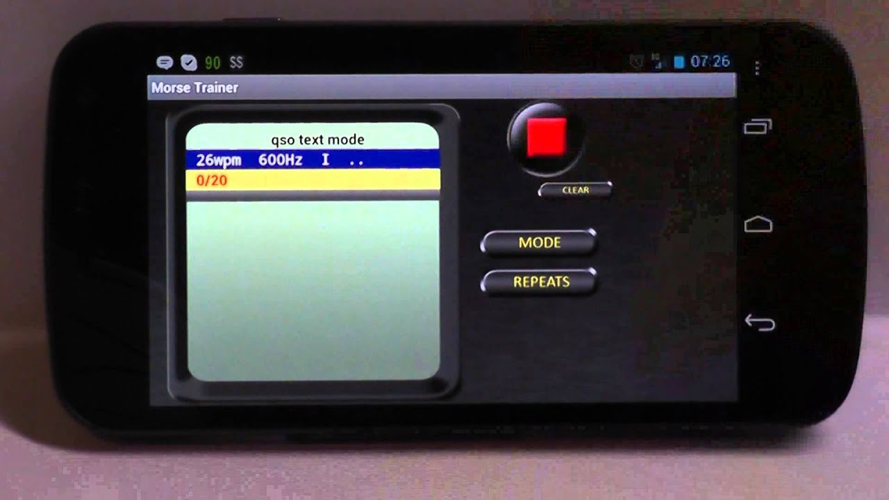 Ham Radio - QRP: The Best CW training app for Android