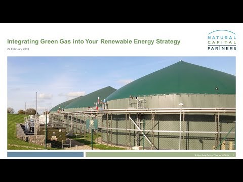 Integrating Green Gas Into Your Renewable Energy Strategy