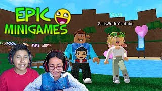 YOU ARE GOING DOWN!!! BRO VS IS EPIC MINI GAMES | FAMBAM GAMING | ROBLOX