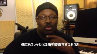 Steve Arrington (formerly of Slave) Message for Billboard Live Tour 2015