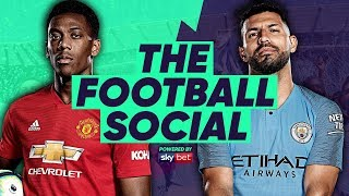 Man City 3-1 Man United | City Go Top After Dominant Derby Win | #TheFootballSocial