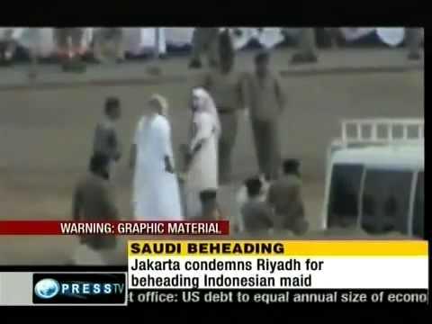 Beheading of an abused maid in saudi arabia.mp4