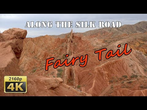 Fairy Tale Canyon - Kyrgyzstan 4K Travel Channel