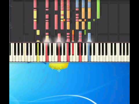 Aquarius   Fifth Dimension [Piano tutorial by Synthesia]