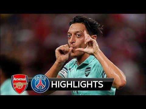 INT'L CHAMPIONS CUP 2018: Arsenal vs PSG 5 - 1 Highlights 2018