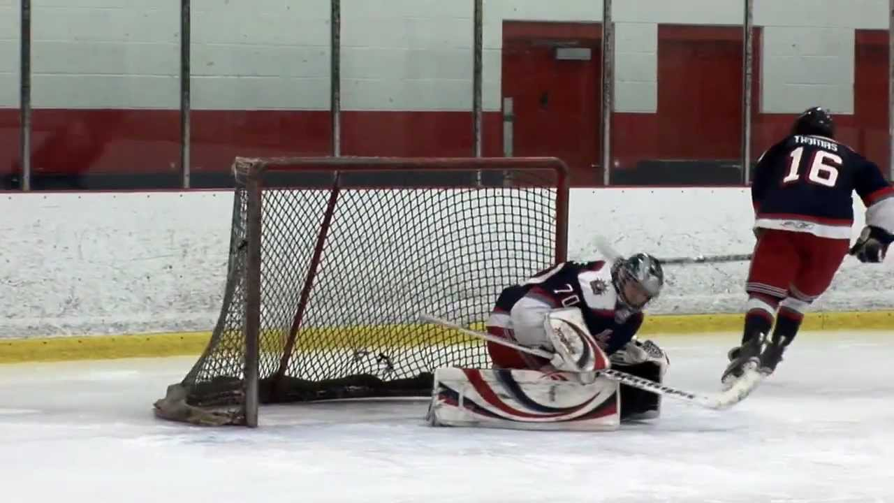 Ice Hockey Drill Net Drive With Point Shot Goalie Drill Youtube